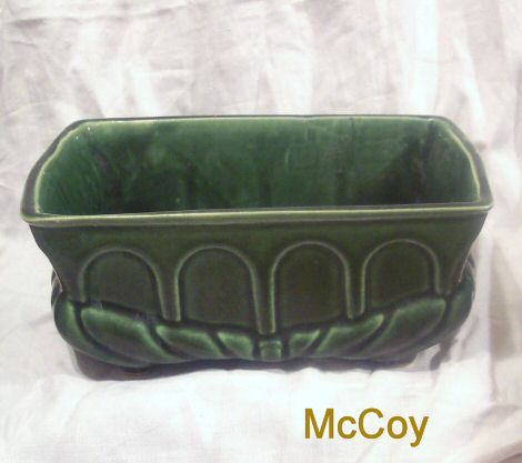McCoy 1960s Oblong Footed Planter
